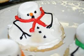Melted Snowman Cookies 1